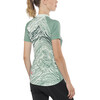 PEARL iZUMi Select Escape Graphic Short Sleeve Jersey Women arctic/ mist green phyllite